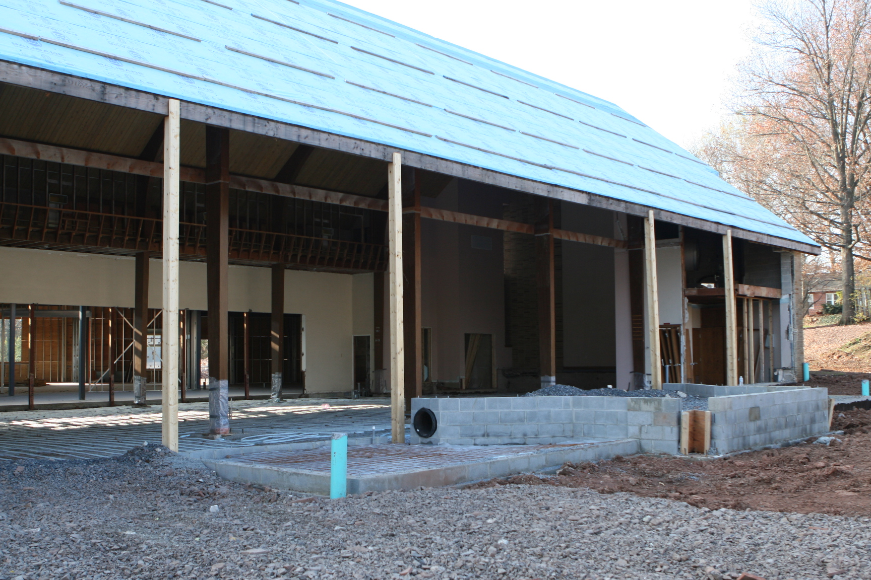 Sanctuary construction 2010