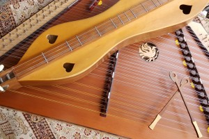 hammered and mountain  dulcimers